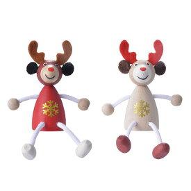 クリスマス レスニー トナカイ Xmas 飾り 木 人形 ハラチキ チェコ detoa MARKS マークス