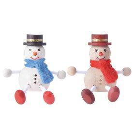 クリスマス レスニー スノーマン Xmas 飾り 木 人形 ハラチキ チェコ detoa MARKS マークス