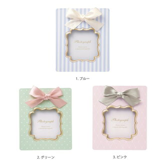 Photostands album frame ribbon photograph length L size baby baby child present gift baby gift marks