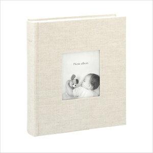 アルバム 写真 大容量 ポストカードサイズ 200枚 収納可フォトフレームアルバム コルソグラフィア リネン マークス