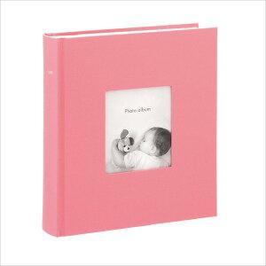 アルバム 写真 大容量 ポストカードサイズ 200枚 収納可フォトフレームアルバム コルソグラフィア ピンク マークス