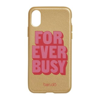 Van dough eyephone case iPhoneX-adaptive smartphone cover (back case) Forever Busy ban.do