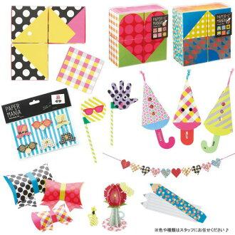 Craft item six points set Happybag lucky bag paper enthusiast Bonnes Fetes marks