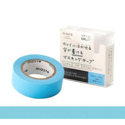 水性ペンで書けるマスキングテープ/小巻/「マステ」/ブルー