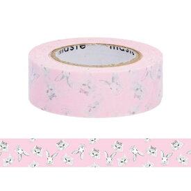 マスキングテープ 手帳 水性ペンで書けるマスキングテープ 小巻 「マステ」 アニマル ネコ 猫 ウサギ マークス