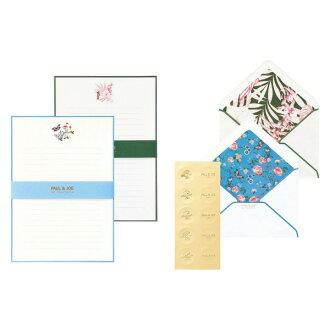 Pole and Joe letterset tropical jungle & フィオーレ エ farfalle pole & ジョーラ パペトリーマークス