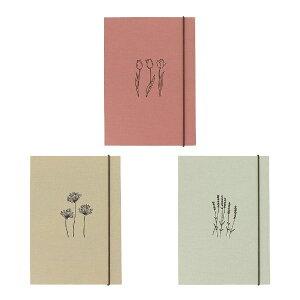 リングバインダー・ブッククロス・A5 花柄 ファイル システム手帳 韓国 おしゃれ かわいい スタディプランナー PAPERIAN ぺーパーリアン