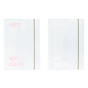 クリアポケットファイル ステッカー シールブック 透明 ケース 韓国 文具 おしゃれ かわいい PAPERIAN ぺーパーリアン