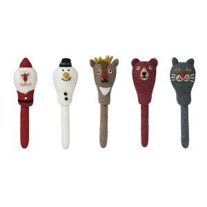 フェルト ボールペン モココ サンタ クリスマス X'mas グッズ インテリア おもちゃ 文具 マークス MARK'S