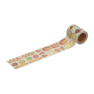 養生テープ パン総柄 マークス かわいい おしゃれ 梱包 ガムテープ DIY 女子
