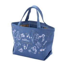 ランチバッグ トートバッグ キャンバス 小さめ レディース コスメファッション ブルー INFINITIOR インフィニティオール マークス