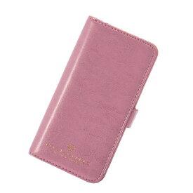iPhone8 7 6S 6 アイフォン 対応 スマホケース 手帳型 Brilliant ブリリアント フラワーダイヤ ミラー付き フラップ ピンク マークス