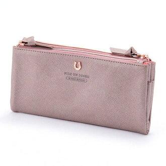 Stylish lady's marks having a cute silhouette folding porch S shiny pink PEDIR ペディール