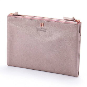 Stylish lady's marks having a cute silhouette folding porch M shiny pink PEDIR ペディール