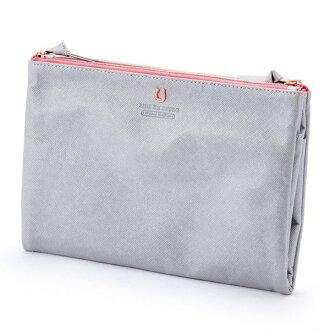 Silhouette folding porch M silver PEDIR ペディール cute stylish lady's marks