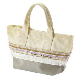 ミックス刺繍 トートバッグ 帆布 グレー Mian ミアン おしゃれ かわいい レディース マークス