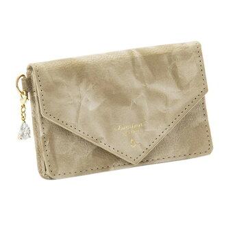 オーキッドネームカードケース card case graige beige lumina sparkle ルミーナスパークル fashion cute lady's marks
