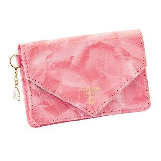 オーキッドネームカードケース card case pink lumina sparkle ルミーナスパークル fashion cute lady's marks