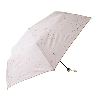 Fair or rainy weather combined use COSMIC .2 color light pink marks lightweight more than 90% of folding umbrella Lady's UV cut rates