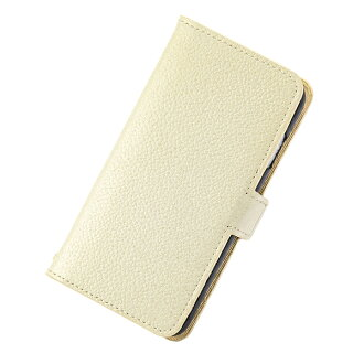Eyephone smartphone case notebook type genuine leather leather JOLIE FILLE Joly フィーユ シャルマントラメアイボリーマークス-adaptive for iPhone8 7 6s for 6