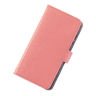Eyephone smartphone case notebook type genuine leather leather JOLIE FILLE Joly フィーユ シャルマントラメピンクマークス-adaptive for iPhone8 7 6s for 6