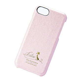 Case pastel pink marks for smartphone cover back case Lilou cat Lil cat Ai Jupiter phone iPhone-adaptive for iPhone8 7 6s for 6