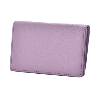 ドラリーノレザーネームカードケース card case pink beige PEDIR ペディール cowhide genuine leather marks