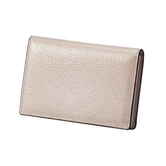 Pearl 2 name card case silver EDITO365 card case fashion cute genuine leather Lady's marks