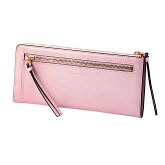 Mayor of pearl 2 LF long wallet pink EDITO365 wallet fashion cute genuine leather Lady's marks