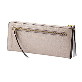 Mayor of pearl 2 LF long wallet silver EDITO365 wallet fashion cute genuine leather Lady's marks