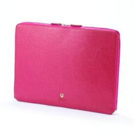 ネブラスカ キャリングケース A4 13インチ ピンク おしゃれ かわいい PEDIR ペディール マークス
