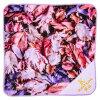 Antique flower towel handkerchief K lavender Brilliant brilliant gift Lady's cute stylish adult girl marks