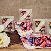 Antique flower towel handkerchief R mixture Brilliant brilliant gift Lady's cute stylish adult girl marks