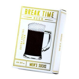 Beer socks men black BREAKTIME break thyme men unique stylish gift socks sneakers marks
