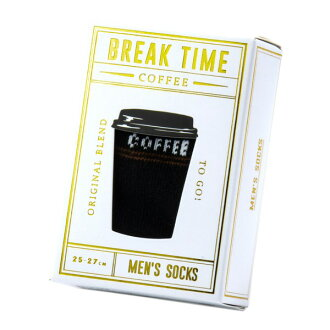 Coffee socks men black BREAKTIME break thyme men unique stylish gift socks sneakers marks