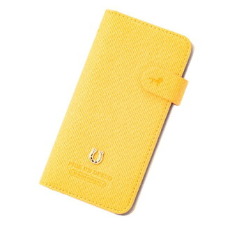 The marks that smartphone case notebook type PEDIR ペディールコーデュロイイエローフラップアイフォン fashion shows cute for 6 for iPhone 8 7 6s