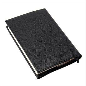 プリズム 文庫本 ブックカバー ブラック PEDIR ペディール 馬蹄 革 マークス