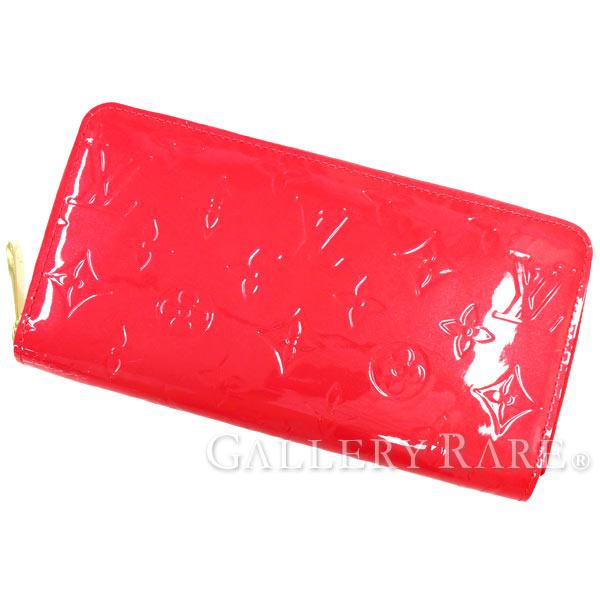 ルイヴィトン 長財布 モノグラム ヴェルニ ジッピー・ウォレット M93058 LOUIS VUITTON ヴィトン 財布
