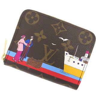 路易 · 威登钱包会标 zippy 硬币钱包 M62139 路易威登路易威登钱包硬币放跨大西洋邮轮打印 2016 新