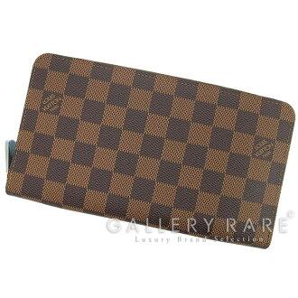 路易 · 威登钱包双色格子活泼组织者 N60003 路易威登路易威登钱包