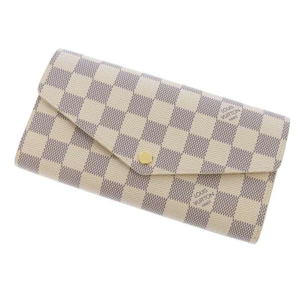 ルイヴィトン 長財布 ダミエ・アズール ポルトフォイユ・サラ N63208 LOUIS VUITTON ヴィトン 財布