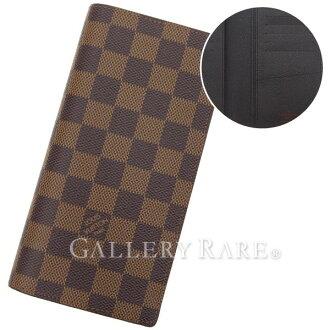 路易 · 威登长钱包双色格子钱包-兄弟 N60017 路易威登路易威登钱包男士