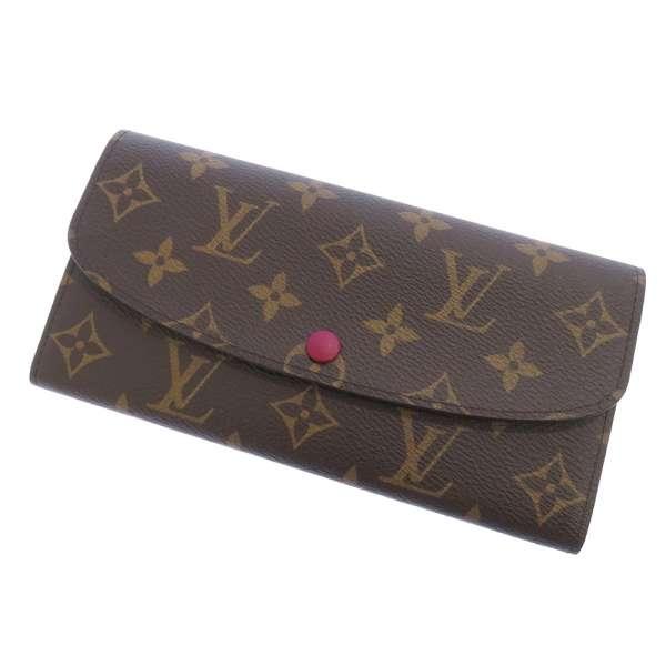 ルイヴィトン 長財布 モノグラム ポルトフォイユ・エミリー M60697 LOUIS VUITTON ヴィトン 財布