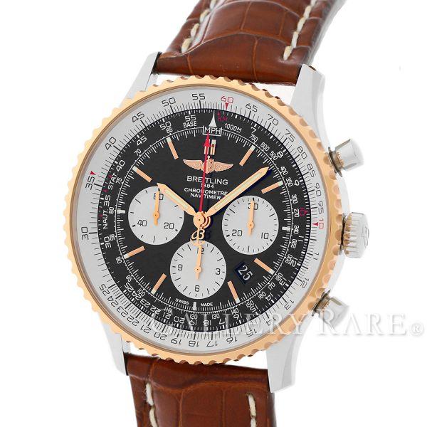 ブライトリング ナビタイマー01 46MM UB0127 BREITLING 腕時計 UB012721/BE18 U017B18WBA【安心保証】【中古】