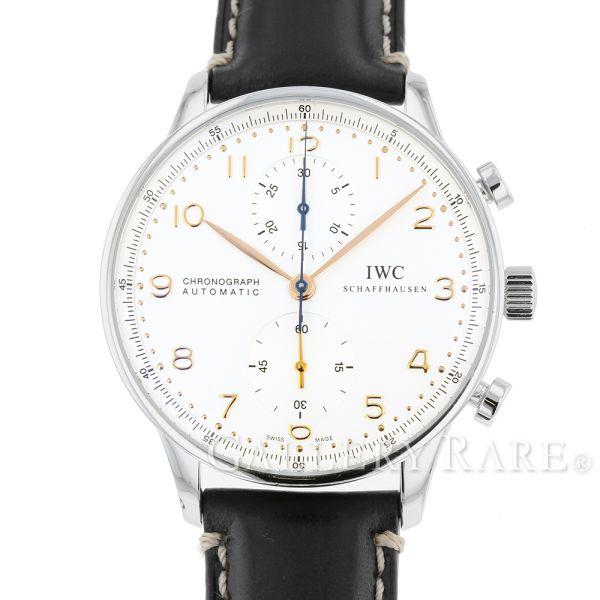 IWC ポルトギーゼ クロノグラフ IW371401 腕時計 ウォッチ アイダブリューシー【安心保証】【中古】