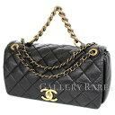 23af7fd34954 Chanel chain shoulder bag Paris Bombay here mark vintage calf A67129 CHANEL  2way bag