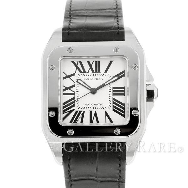 カルティエ サントス 100 LM W20076X8 Cartier 腕時計