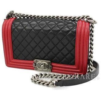 d28aaee1959 Gallery Rare: CHANEL Chain Shoulder Bag Boy Chanel Matelasse 25 ...