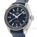 オメガ シーマスター プラネットオーシャン GMT コーアクシャル 600m 232.32.44.22.03.001 OMEGA 腕時計 ブルー文字盤