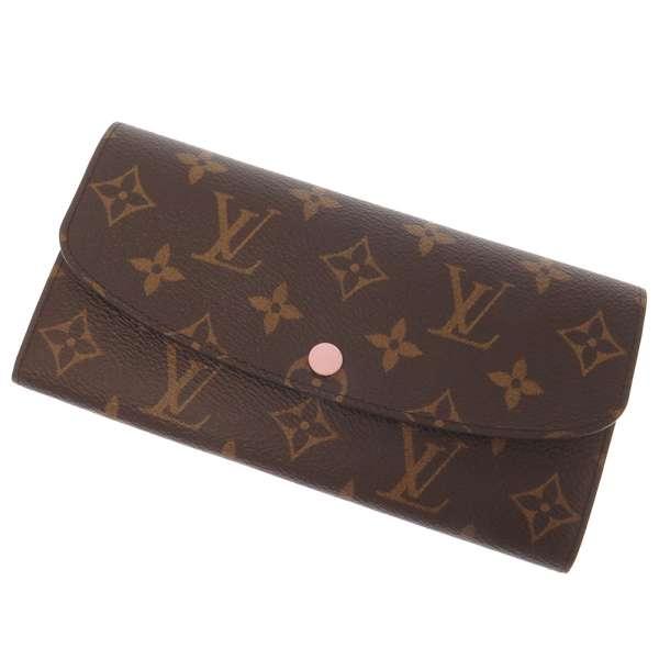 ルイヴィトン 長財布 モノグラム ポルトフォイユ・エミリー M61289 LOUIS VUITTON ヴィトン 財布